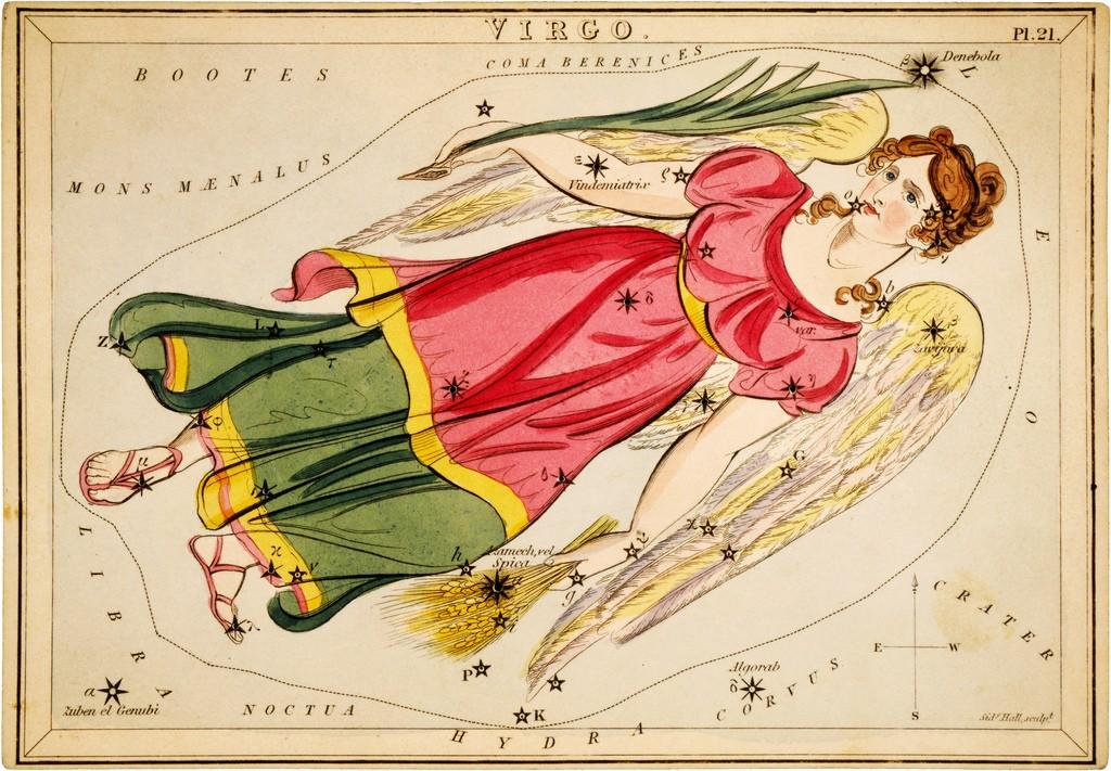 Virgo uit Urania's Mirror