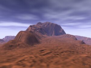 Maxwell Mons op Venus