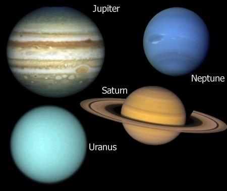 De buitenplaneten