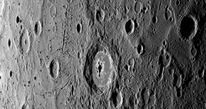 Het oppervlak van Mercurius