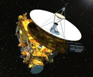 De New Horizons is op weg naar Pluto en zal in augustus 2014 de baan van Neptunus kruisen