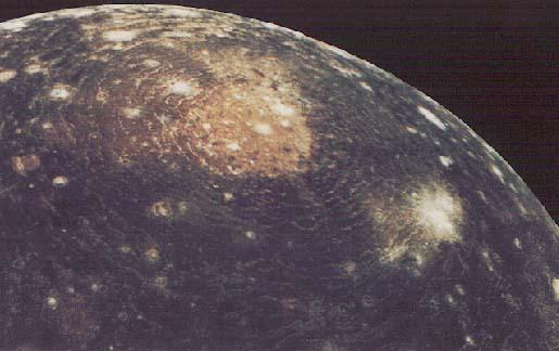 Callisto - maan van Jupiter
