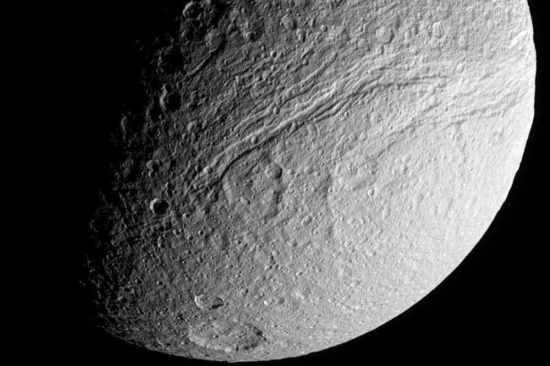 Tethys - Ithaca Chasma