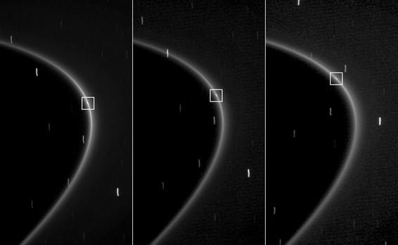 Aegaeon - maan van Saturnus