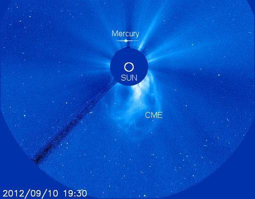 Coronal Mass Ejection op de Zon