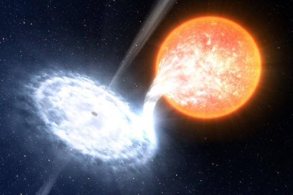 Stellair zwart gat