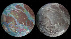 Geologische kaart Ganymedesrt-ganymedes