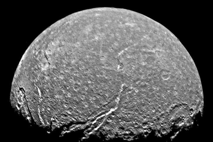Titania - maan van Uranus