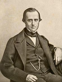 De Franse astronoom Edouard Roche