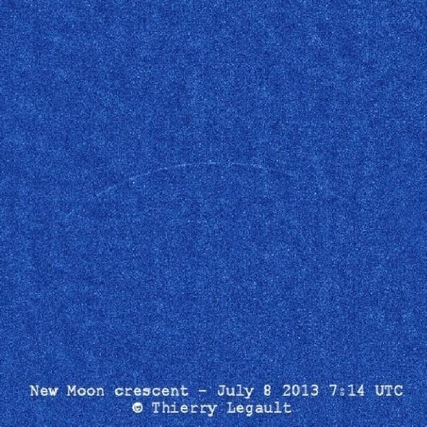 De jongste maan