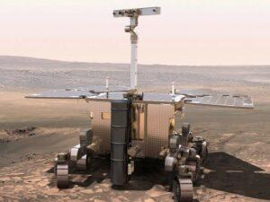 Model van de ExoMars rover