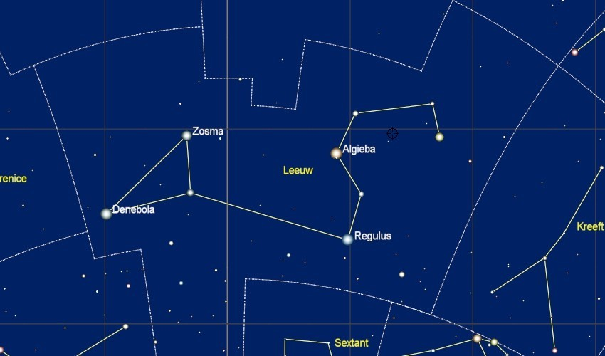 Het sterrenbeeld Leo - Leeuw