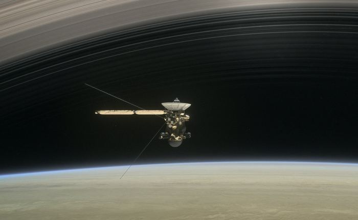 duikvlucht van de Cassini