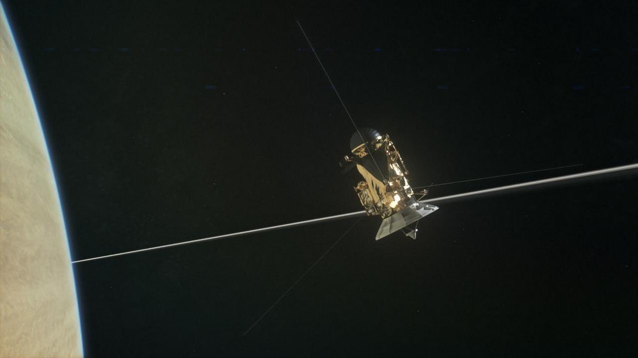 Cassini bij Saturnus