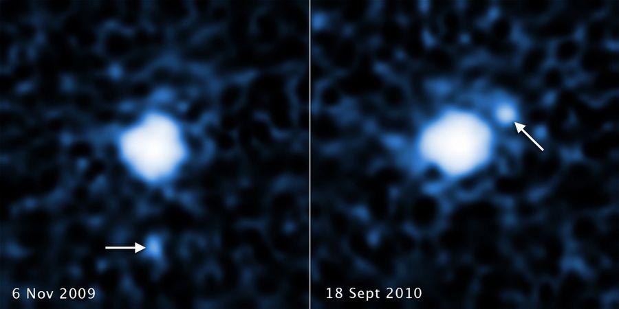maan ontdekt bij dwergplaneet 2007 OR10