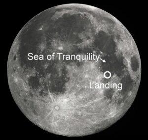 Landingsplaats Apollo 11