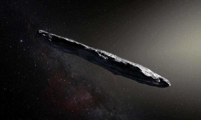 asteroïde 'Oumuamua