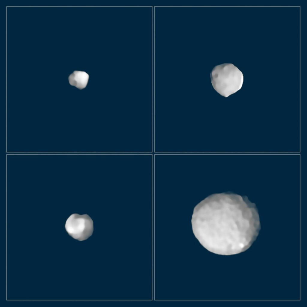 SPHERE ziet asteroïden