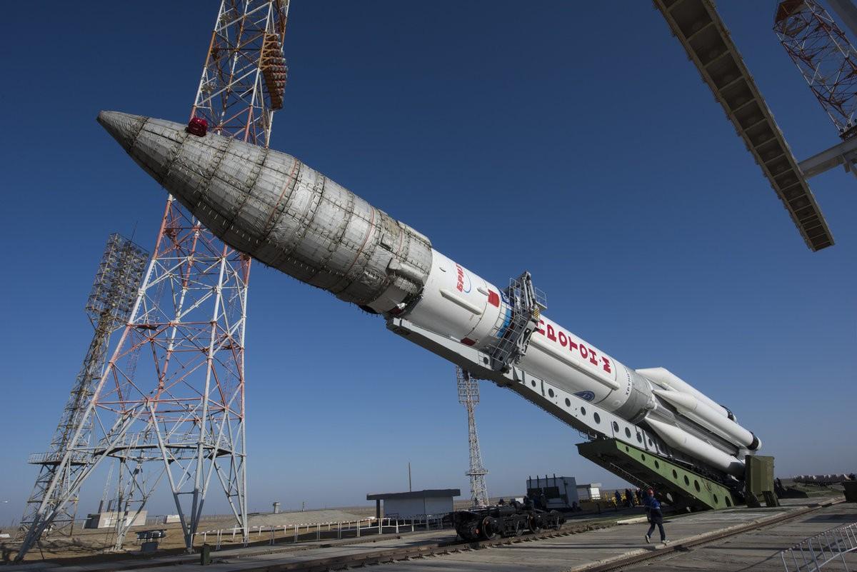 ExoMars 2016 gelanceerd door een Russische Proton-M