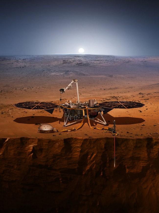 InSight lander op Mars