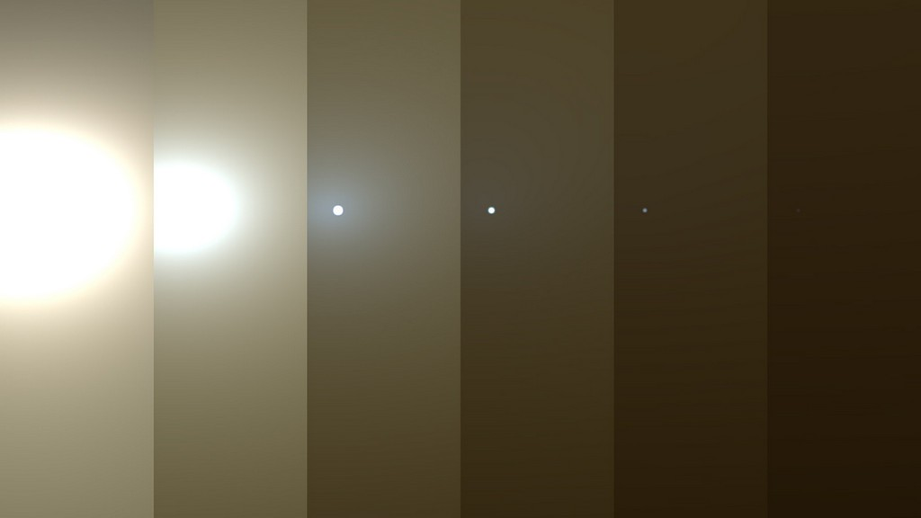 Gigantische stofstorm op Mars