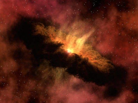 ontstaan van ons zonnestelsel