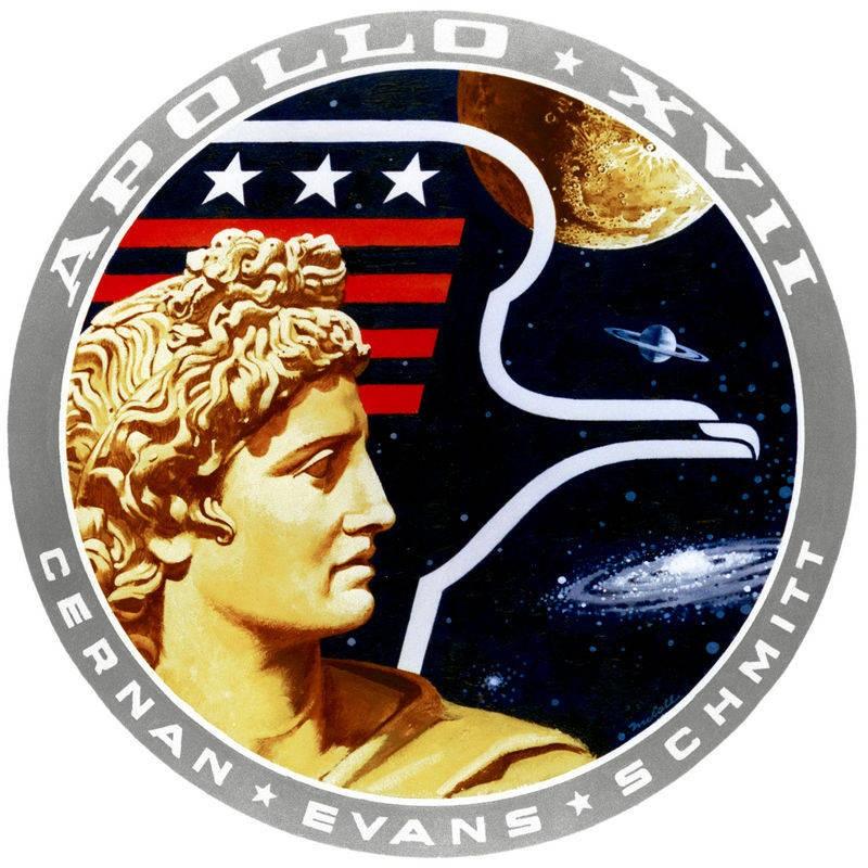 Apollo 17 missie patch
