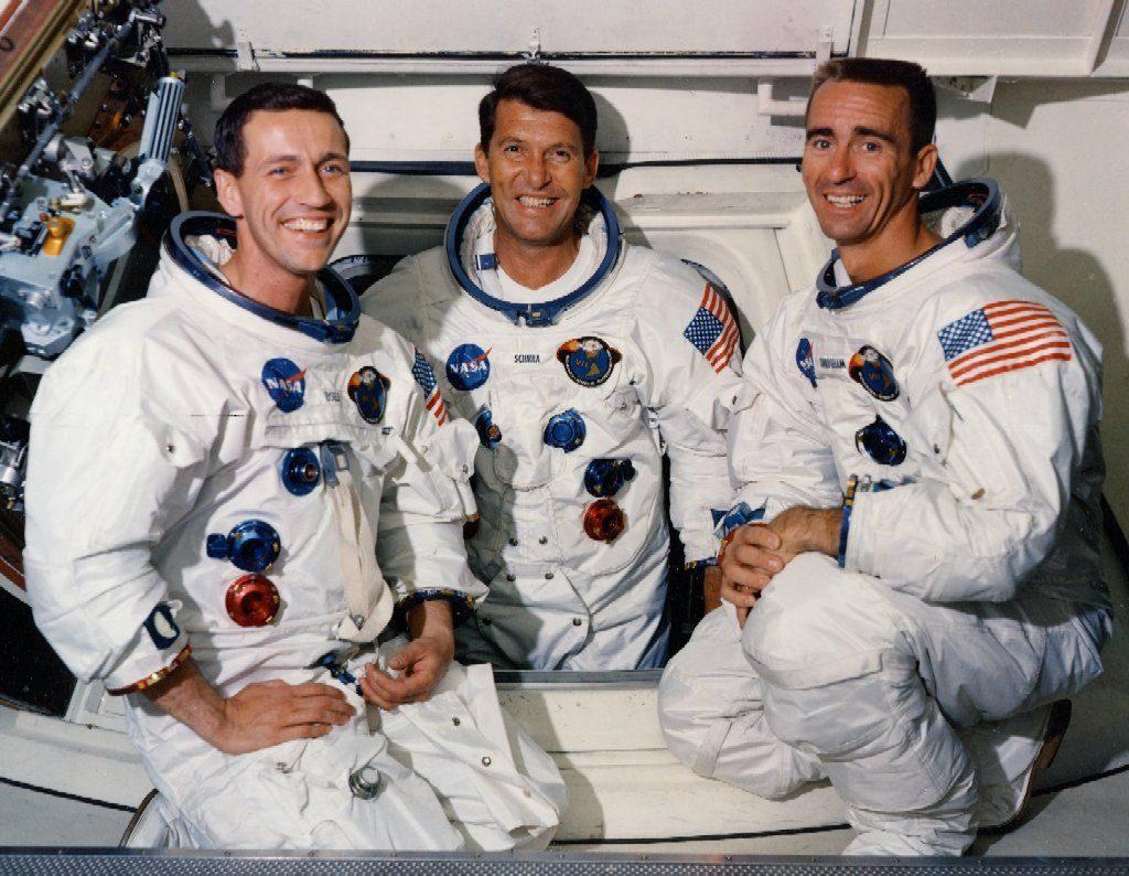 De bemanning van Apollo 7