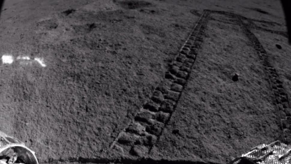 Yutu 2 op de Maan