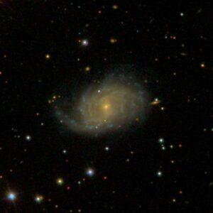 NGC 7046 in Equuleus