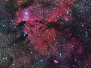 NGC 6164 en NGC 6165 in Norma