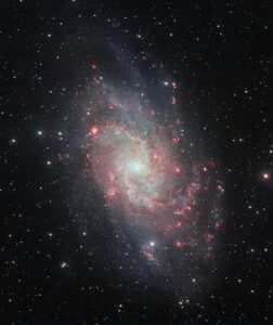 Messier 33 in Triangulum