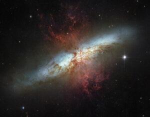 Messier 82 in Ursa Major