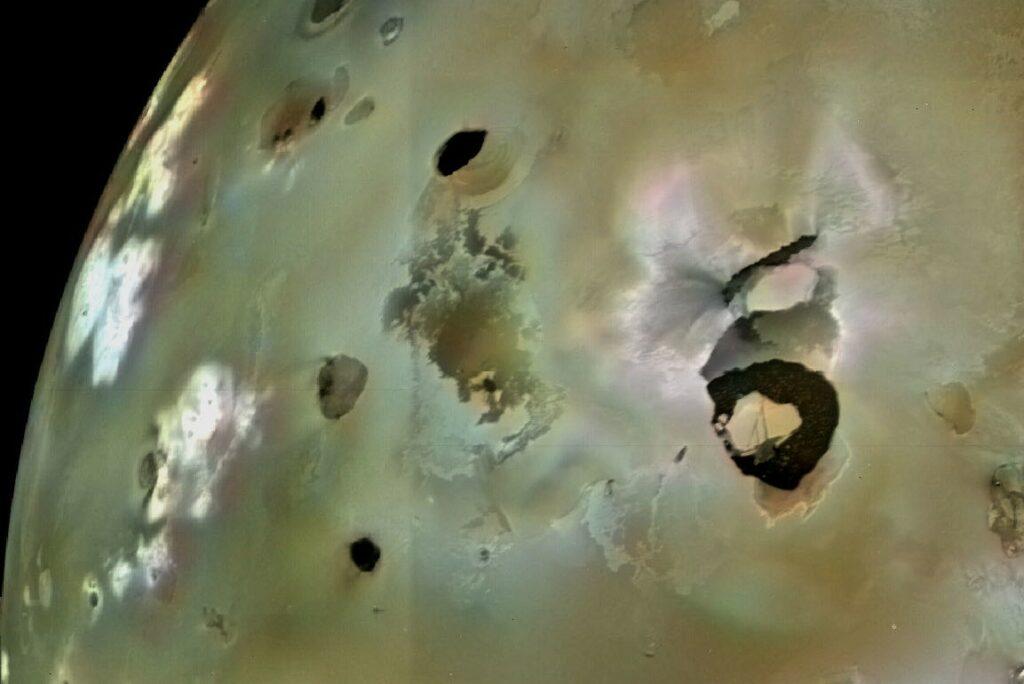 Positie van Loki op Io