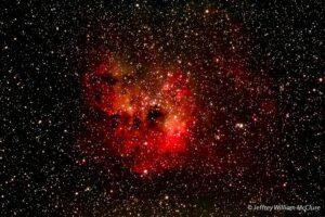IC 410 en NGC 1893 in Auriga