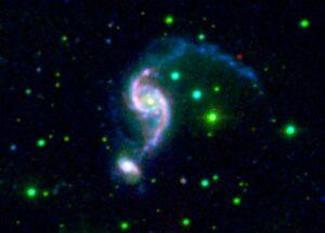 NGC 2535 en NGC 2536 in Cancer
