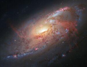 Messier 106 in Canes Venatici