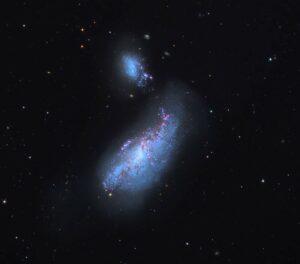 NGC 4490 in Canes Venatici
