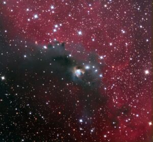 NGC 2327 in Canis Major