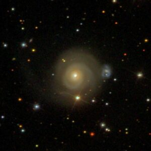 NGC 2485 in Canis Minor