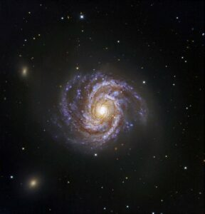 Messier 100 in Coma Berenices