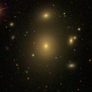 NGC 3842 in Leo