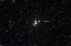 NGC 2017 in Lepus