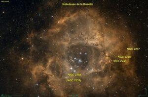 NGC 2237 in Monoceros