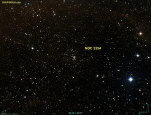 NGC 2254 in Monoceros