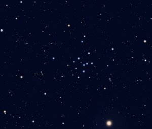 IC 4665 in Ophiuchus