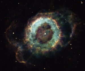 NGC 6369 in ophiuchus