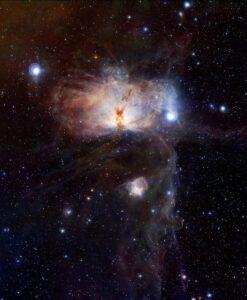 NGC 2024 en NGC 2023 in Orion