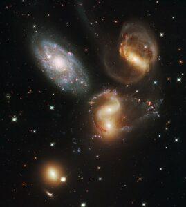 Stephans Quintet in Pegasus