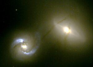 NGC 1409 en NGC 1410 in Taurus